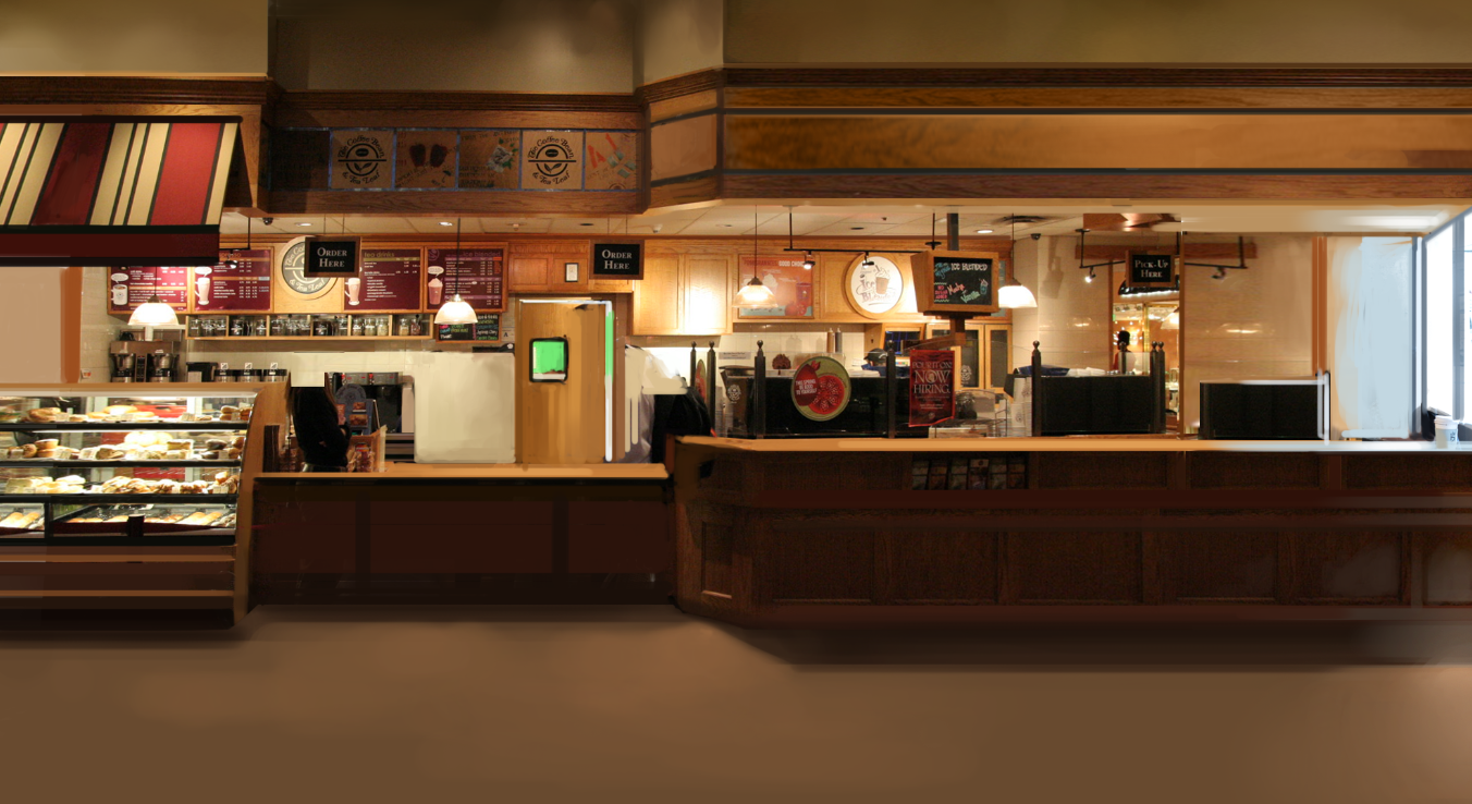 Coffee Shop Background